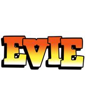 Evie sunset logo