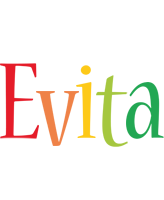 Evita birthday logo
