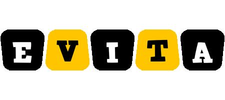 Evita boots logo
