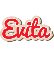 Evita chocolate logo