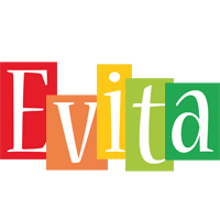 Evita colors logo