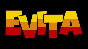 Evita jungle logo