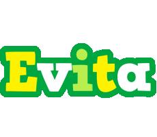 Evita soccer logo