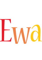 Ewa birthday logo