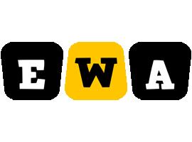 Ewa boots logo