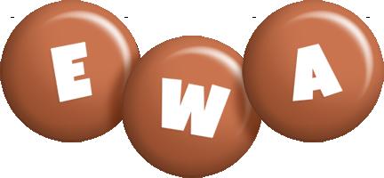 Ewa candy-brown logo