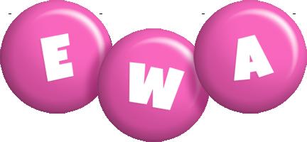 Ewa candy-pink logo