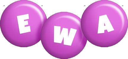 Ewa candy-purple logo