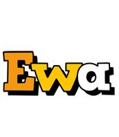 Ewa cartoon logo