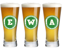 Ewa lager logo