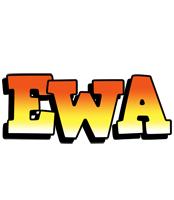 Ewa sunset logo