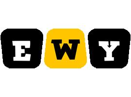 Ewy boots logo