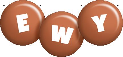 Ewy candy-brown logo