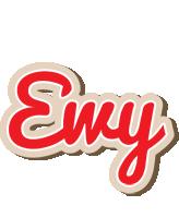 Ewy chocolate logo