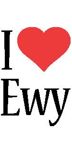 Ewy i-love logo