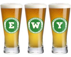 Ewy lager logo