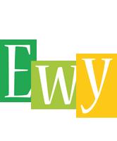 Ewy lemonade logo
