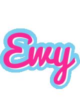 Ewy popstar logo