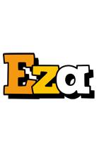 Eza cartoon logo