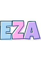 Eza pastel logo