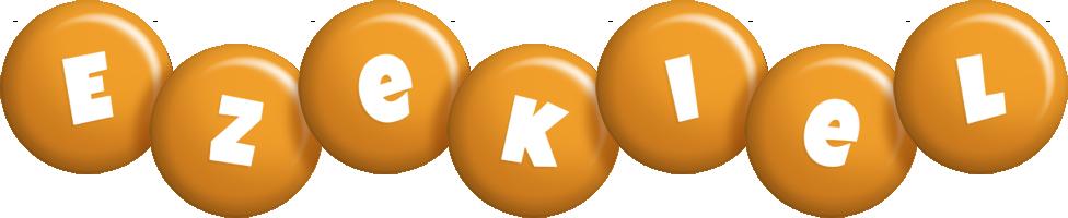 Ezekiel candy-orange logo