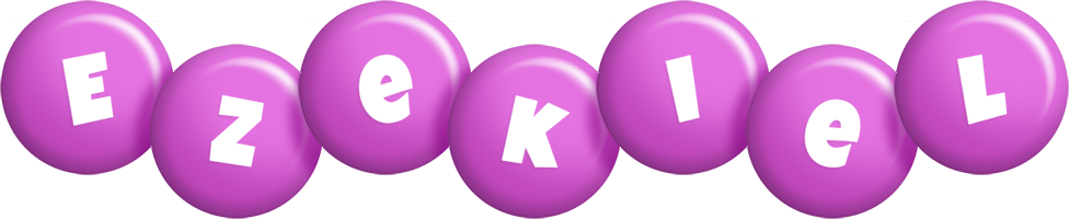Ezekiel candy-purple logo