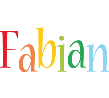 Fabian birthday logo
