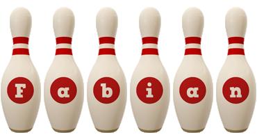 Fabian bowling-pin logo