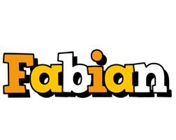 Fabian cartoon logo
