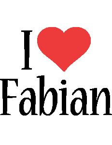 Fabian i-love logo