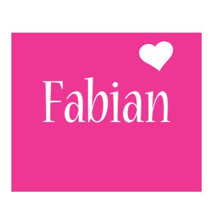 Fabian love-heart logo