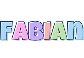 Fabian pastel logo