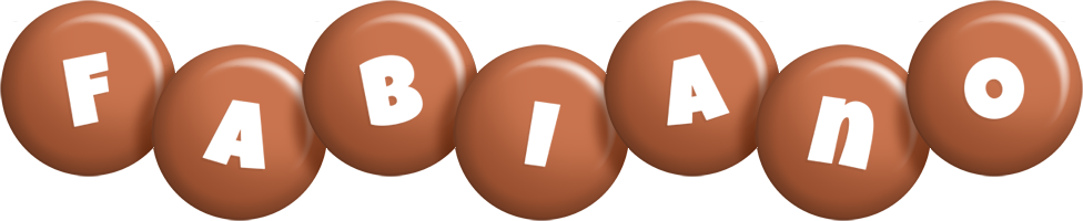 Fabiano candy-brown logo