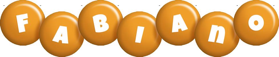 Fabiano candy-orange logo