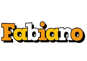 Fabiano cartoon logo