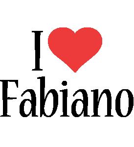 Fabiano i-love logo