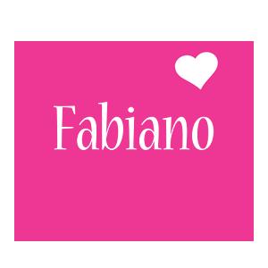 Fabiano love-heart logo