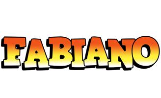 Fabiano sunset logo