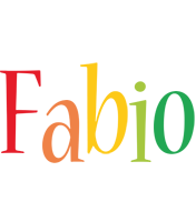 Fabio birthday logo