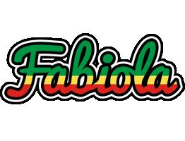 Fabiola african logo