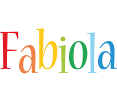 Fabiola birthday logo