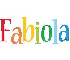 Fabiola birthday logo