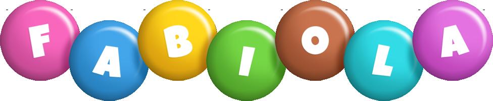 Fabiola candy logo