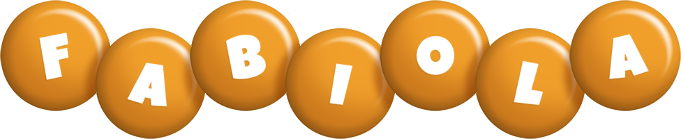 Fabiola candy-orange logo