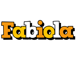 Fabiola cartoon logo