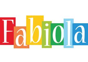 Fabiola colors logo