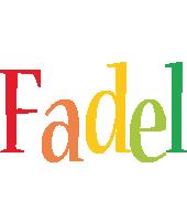 Fadel birthday logo