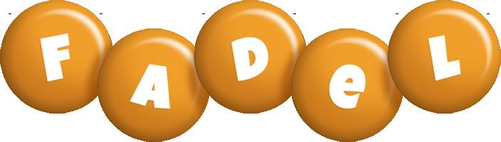 Fadel candy-orange logo