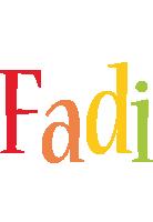 Fadi birthday logo