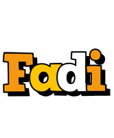 Fadi cartoon logo